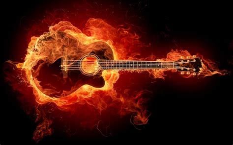 imagenes de guitarras rockeras en hd prender fuego la guitarra noticias android