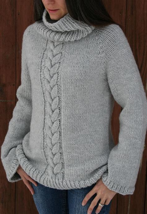 knit down sweater pattern top down cozy weekend sweater knitting pattern by amanda