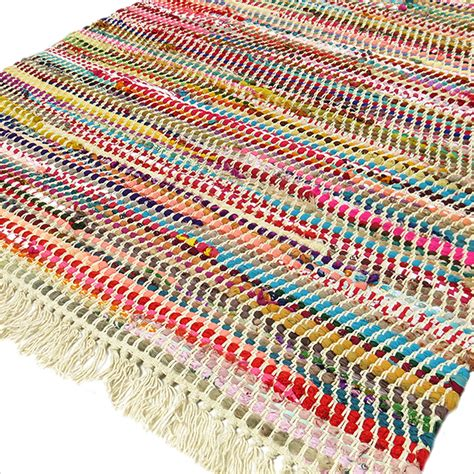 Indian Rag Rug by 3 X 5 Ft Multicolor Colorful Chindi Woven Rag Rug Indian
