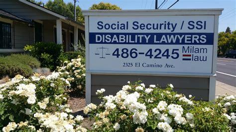Sacramento Social Security Office by Milam Lawyers 2325 El Camino Ave Arden Arcade