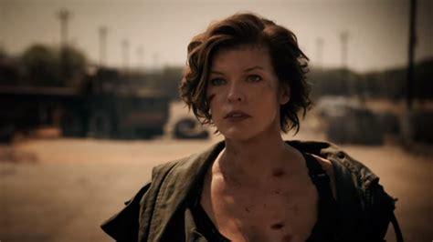 misteri film resident evil milla jovovich on resident evil ending bringing baby to