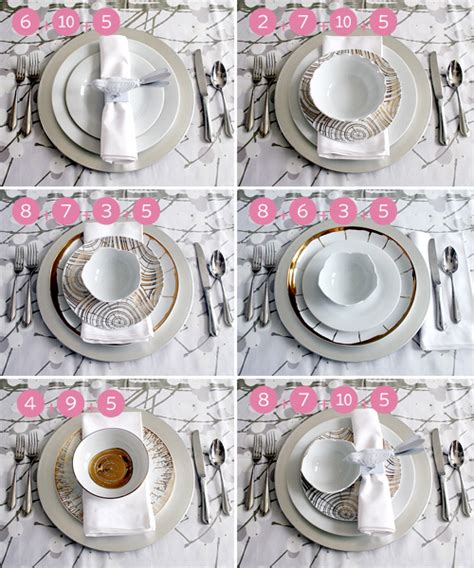 silver place settings setting a holiday table making it lovely