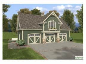 The Garage Plan Shop by Carriage House Plans Craftsman Style Carriage House With
