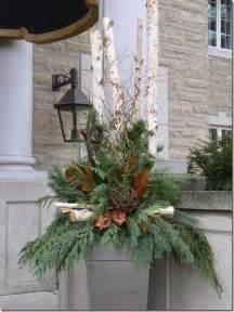 outdoor urn arrangements