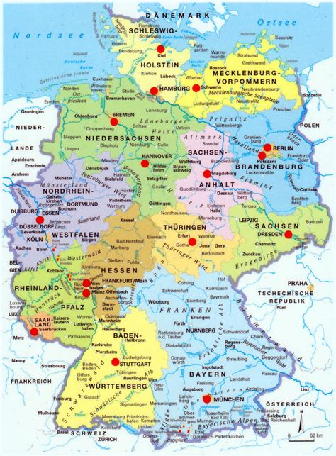 karta deutschland image gallery landkarte deutschland staedte