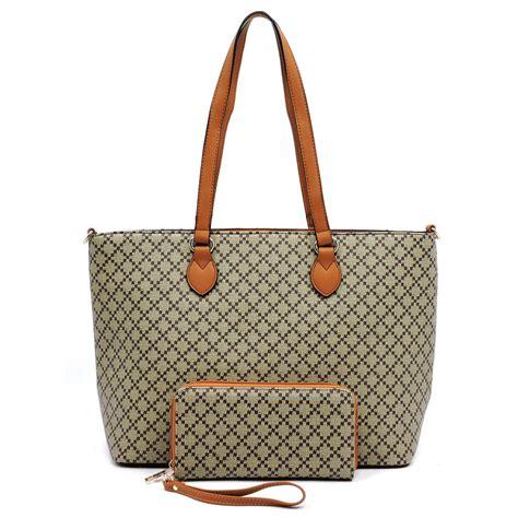 Check Shopper Bag check printed 2 in 1 shopper bag alba collection