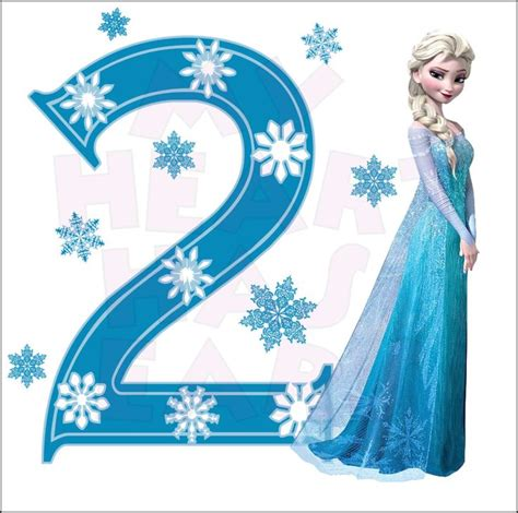 frozen film number 2 disney s frozen elsa birthday with number 2 instant