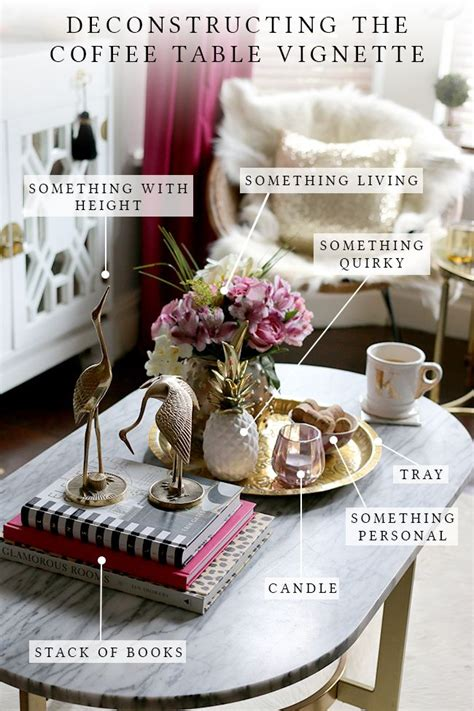 decor for coffee table 25 best ideas about vignettes on coffee table