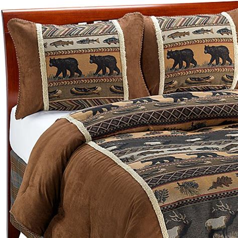 buy croscill 174 caribou full comforter set from bed bath