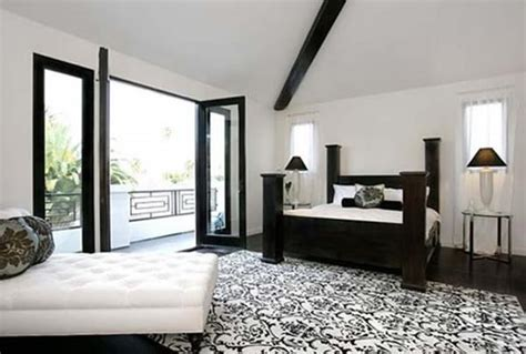 black and white room decor fear protection and purity