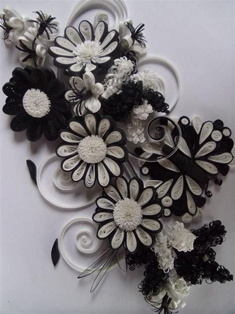 Designs Of by Black And White Precious Quilling Quilling