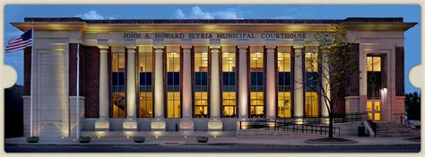 Elyria Ohio Court Records Welcome To The Elyria Municipal Court Elyria Municipal Courthouse