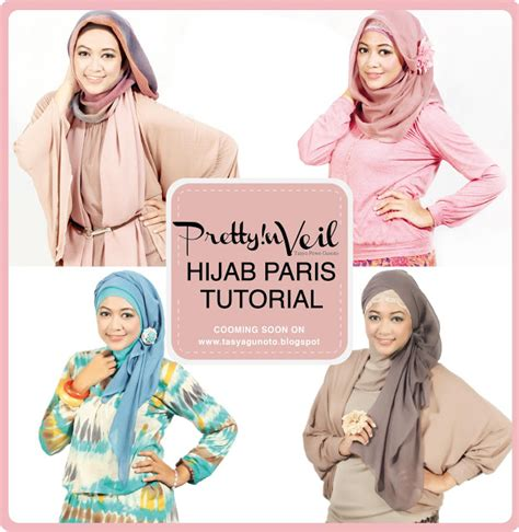 tutorial hijab paris doble port of tasya hijab paris tutorial cooming soon