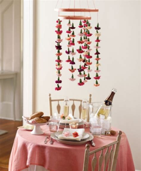 valentine decorations to make at home 25 flower decoration ideas for valentine s day digsdigs