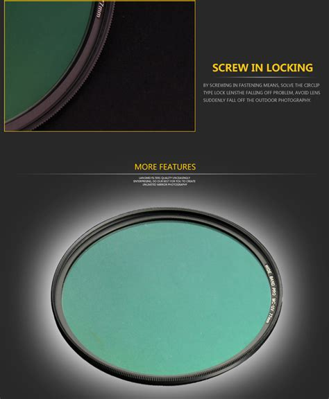 Filter Slim Pro Mc Uv 52mm 52mm uv filter langwei multi coating mc pro slim lens