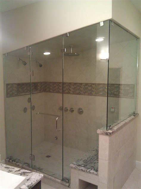 custom shower glass doors frameless frameless glass shower doors west palm