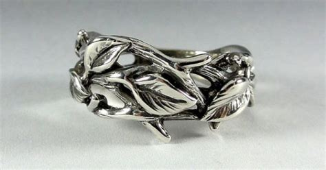 twig ring on pinterest branch ring twig engagement sterling silver leaf and twig band ring tree branch ring
