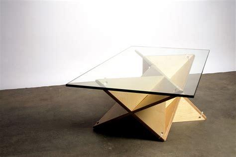 T Shelf by J1 Studio S Modular T Shelf Takes Plywood And Zip Ties