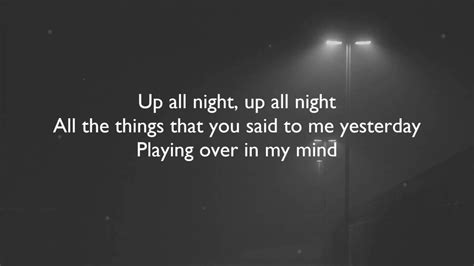 charlie puth up all night charlie puth up all night lyrics youtube