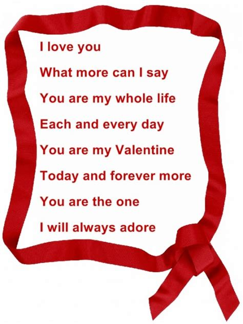 valentines day poems your poems and quotes quotesgram