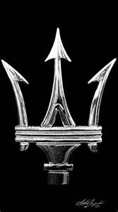 What Is The Maserati Symbol Engravings Maserati Trident Logo