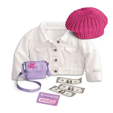 Where To Buy American Girl Gift Cards - american girl my ag true spirit accessories for dolls jacket retired purse new ebay
