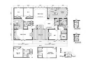 wide mobile home plans quadruple wide mobile home floor plans 5 bedroom 3 bathrooms 2008 clayton quad