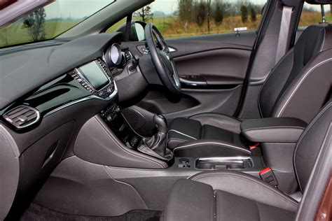 opel astra interior vauxhall astra hatchback review parkers