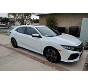 Tinted White Orchid Pearl Hatchback  2016 Honda Civic