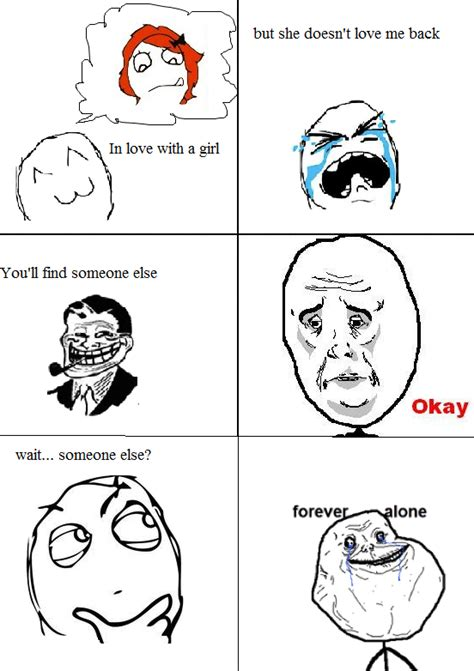 Know Your Meme Forever Alone - image 226622 forever alone know your meme