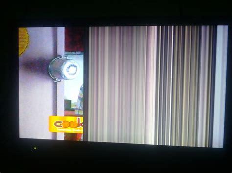 Ic Warna Tv Lcd memperbaiki tv lcd rusak bergaris