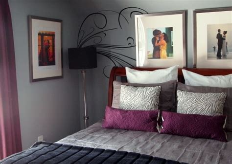 plum and gray bedroom plum purple grey vettriano ideas for house for now and