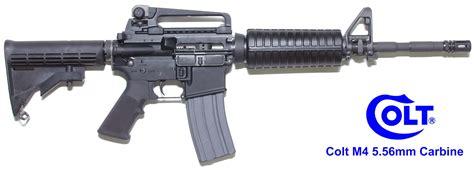 colt m4 carbine and new variant colt m4 carbine monolithic