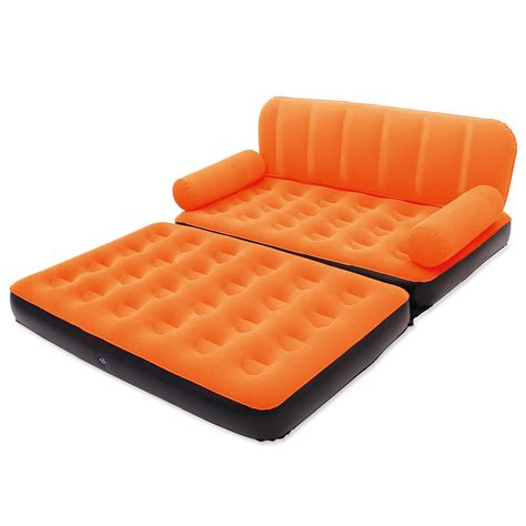inflatable settee double bed lovely inflatable sofa 6 inflatable couch bed