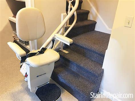 harmar stair lift troubleshooting harmar helix curved chair lift repair stairliftrepair