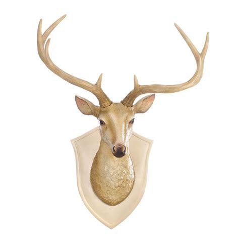 Deer Decor by Deer Bust Wall Decor