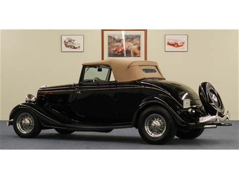 ford cabriolet cars for sale 1934 ford cabriolet for sale classiccars cc 777026