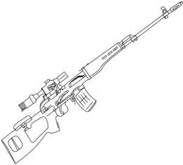 coloring pages guns search