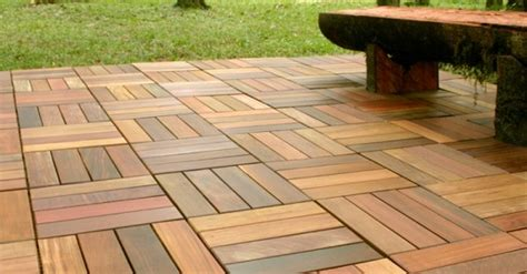 Wood Patio Flooring by What To Look For When Selecting Outdoor Flooring For Patio