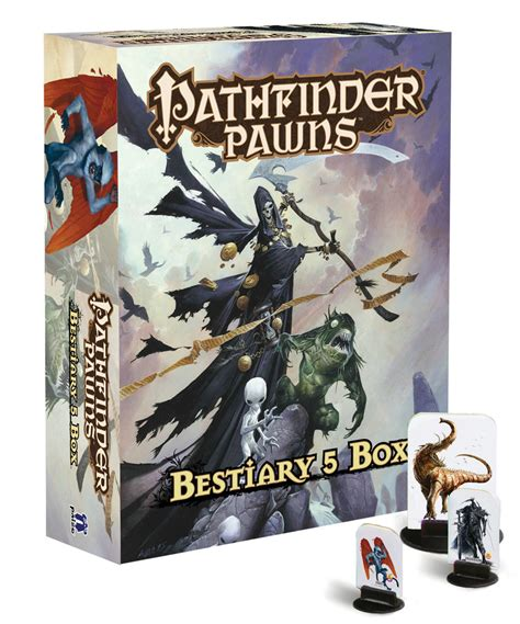 starfinder pawns archive pawn box books mar162736 pathfinder pawns bestiary 5 box previews world