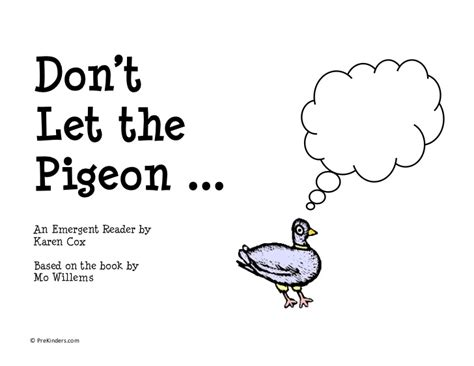 dont let the pigeon don t let the pigeon drive the bus