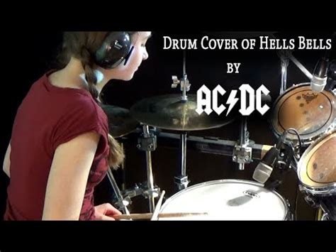 sultans of swing drum cover hells bells ac dc drum cover by sina vidoemo