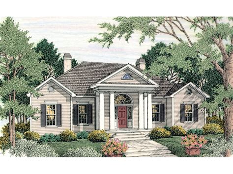 Colonial Ranch House Plans by Canalou Colonial Ranch Home Plan 084d 0015 House Plans