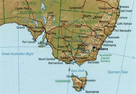 map of south east australia south east australia map south eastern australia australia