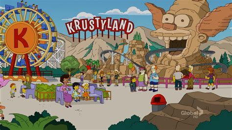 theme park on the simpsons krustyland walkthroughthe simpsons tapped out addictsall