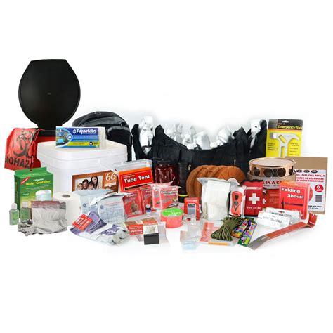 premium 2 week earthquake kit 2 person quake kit
