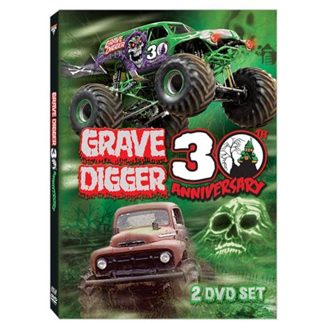 grave digger truck 30th anniversary grave digger 30th anniversary dvd box set