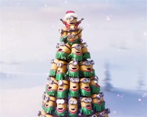 minion xmas tree smaller by richard67915 on deviantart
