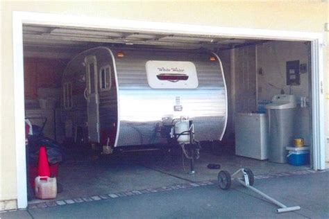 travel trailer with garage starling travel 187 riverside retro travel trailers brand