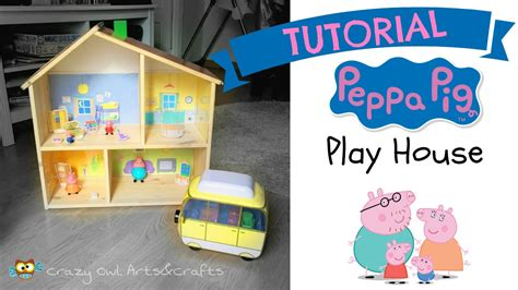 peppa pig doll house videos tutorial peppa pig playhouse out of an ikea dollhouse youtube